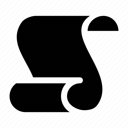 document, paper, script, text icon