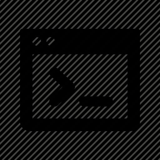 terminal, window, windows icon