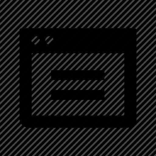 text, window, windows icon