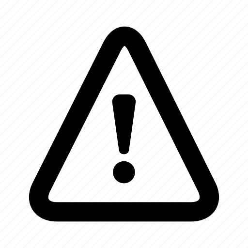 attention, warning icon
