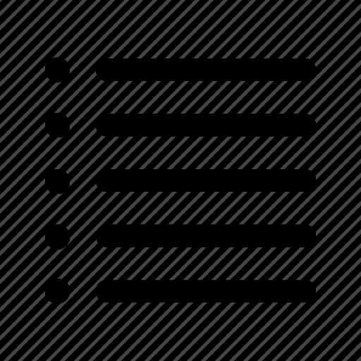 checklist, edit, list, text icon
