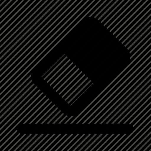 clean, clear, eraser, remove icon
