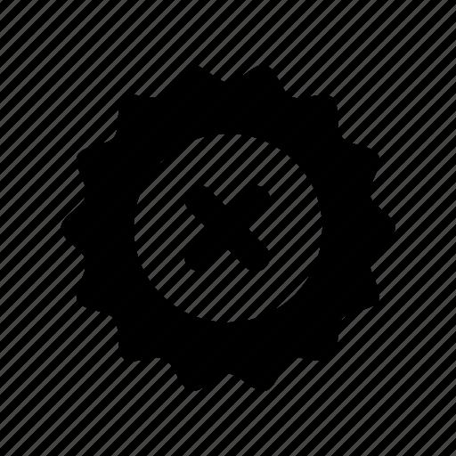 guarantee, no, prohibited, warranty icon