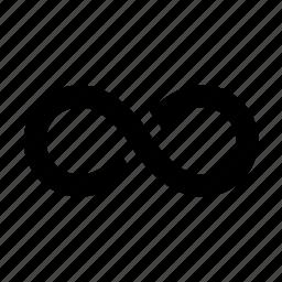 infinite, infinity, loop, repeat icon