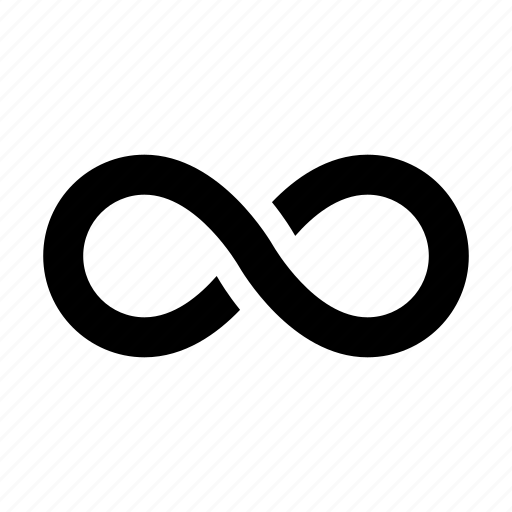 infinite, infinity, loop, repeat icon