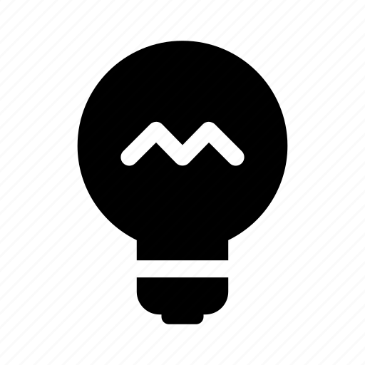 bulb, idea, lightbulb, mind, think icon