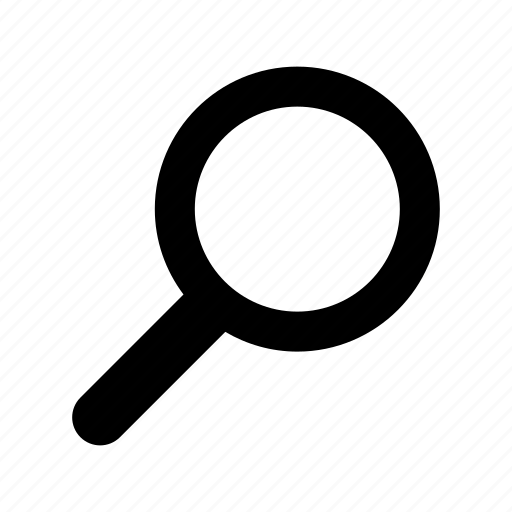 glass, magnifier, magnifing, magnifying, search, zoom icon