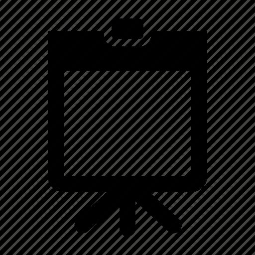 analytics, empty, powerpoint, presentation, statistics icon