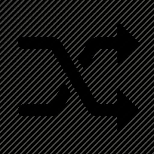 random, randomize, shuffle icon