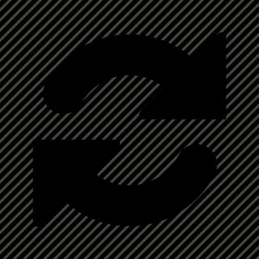 big, refresh, reload, sync icon