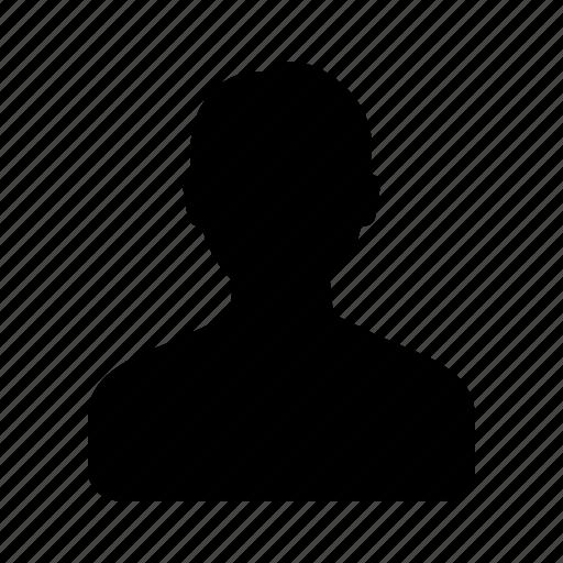 account, male, man, person, profile, user icon