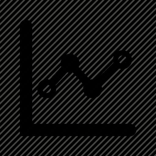 analytics, graph, sidebars icon