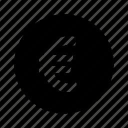 circle, euro, money icon