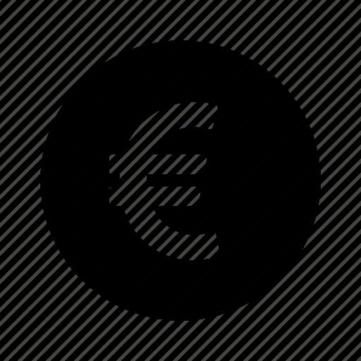 Circle, euro, money icon | Icon search engine