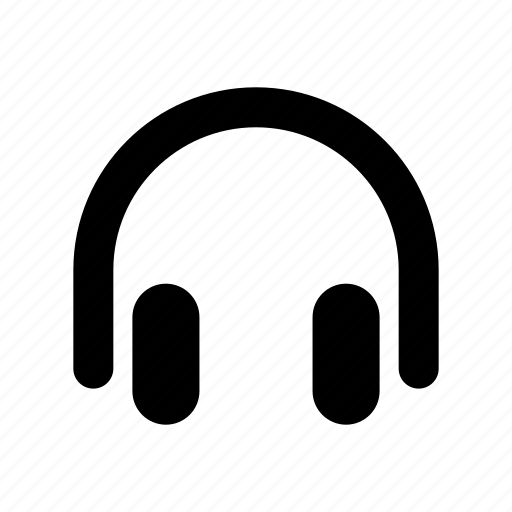 audio, headphones, headset, sound icon