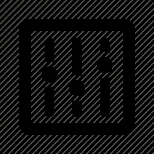 mixer, volume icon