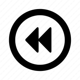 backward, player icon