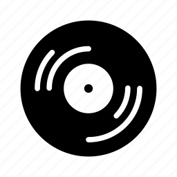 audio, media, music, sound, vinyl icon