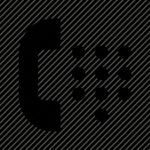 call, keypad, phone, telephone icon