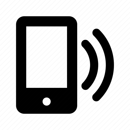 mobile, phone, ring, side, smartphone icon