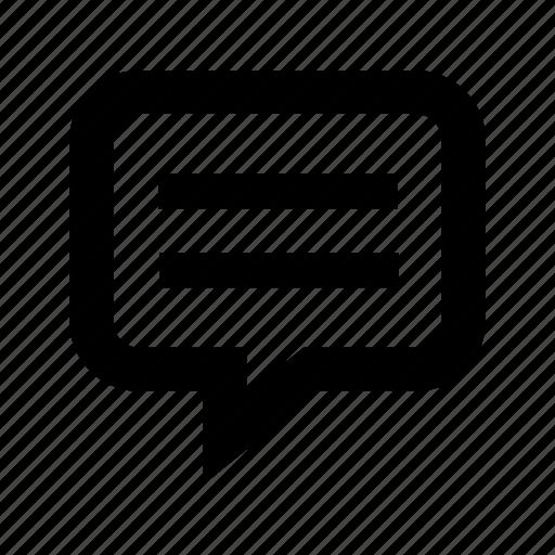 bubble, chat, communication, message, speech, text icon