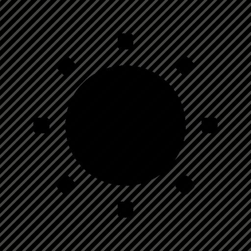 brightness, camera icon