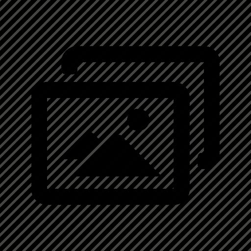camera, mode, multi icon