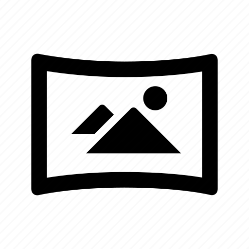 camera, mode, panorama icon