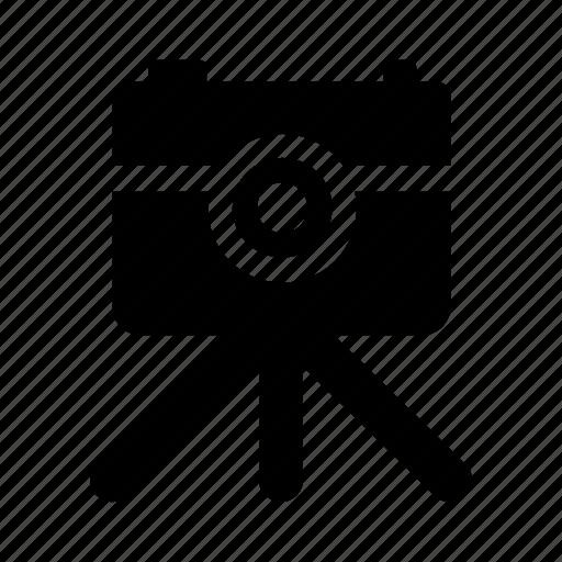 camera, tripod icon