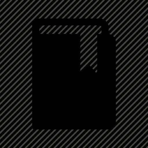 book, bookmark, closed icon
