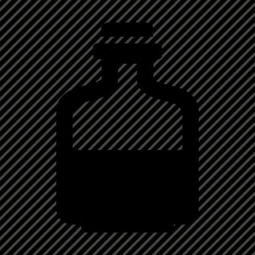 bottle, flask, medicine, substance icon