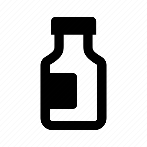 bottle, flask, medicine icon