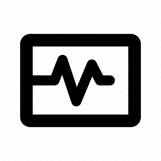 box, pulse icon