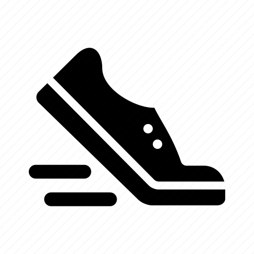 fast, shoe, speed icon