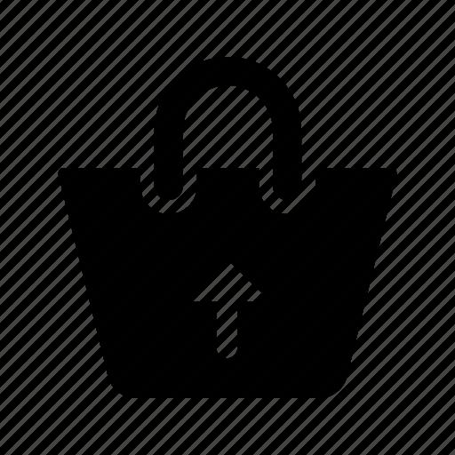 ecommerce, output, purse, shopping icon