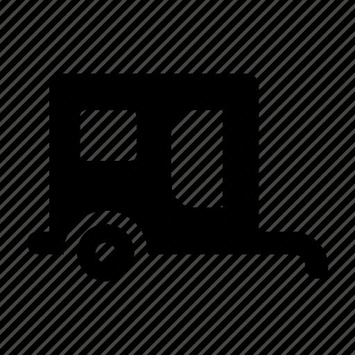 car, holiday, trailer, transport, transportation, travel, vacation, vehicle icon