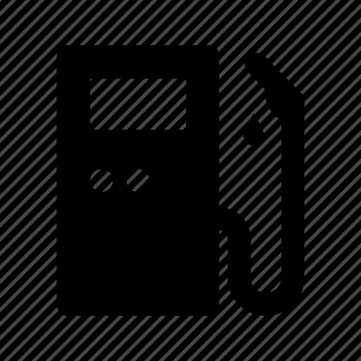 fuel, gas, gasoline, oil, petrol, pump, station icon