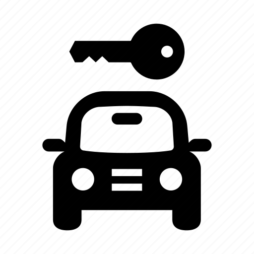 car, front, key, protection, safe, secure, security, transport, transportation, vehicle icon