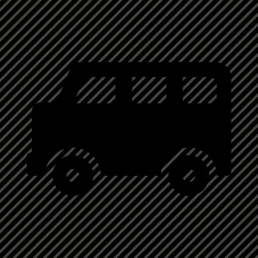 minibus, transport, transportation, travel, vehicle icon