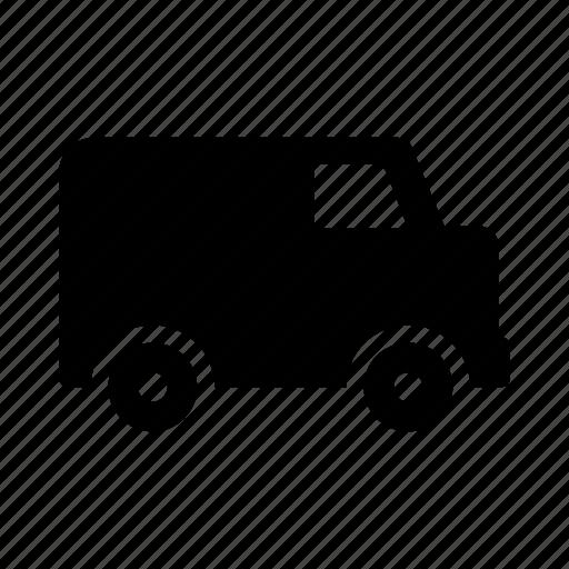 automobile, bus, transport, transportation, truck, van, vehicle icon