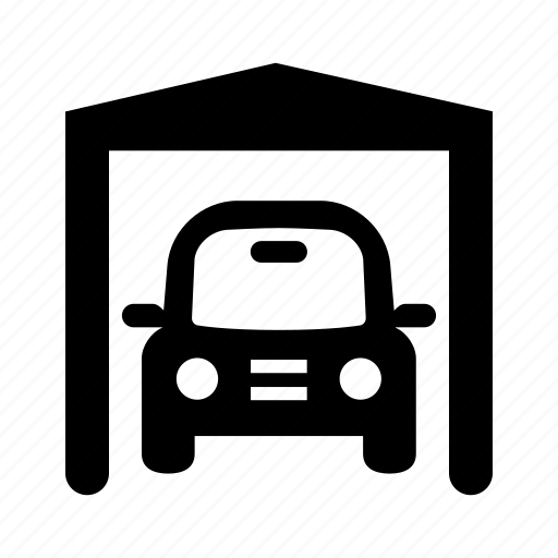 carport, garage icon