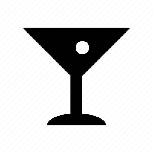 alcohol, drink, glass, martini, olive, restaurant icon