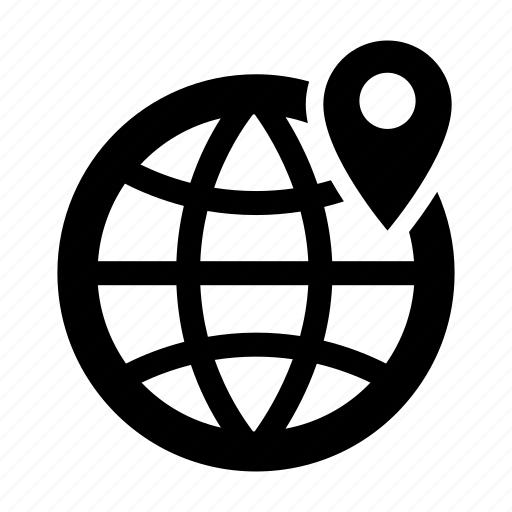 White globe icon png