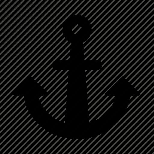 anchor, navigation icon