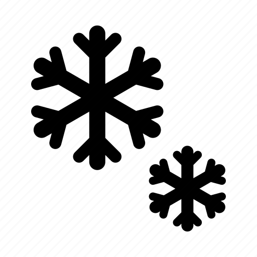 flakes, forecast, snow, weather, winter icon