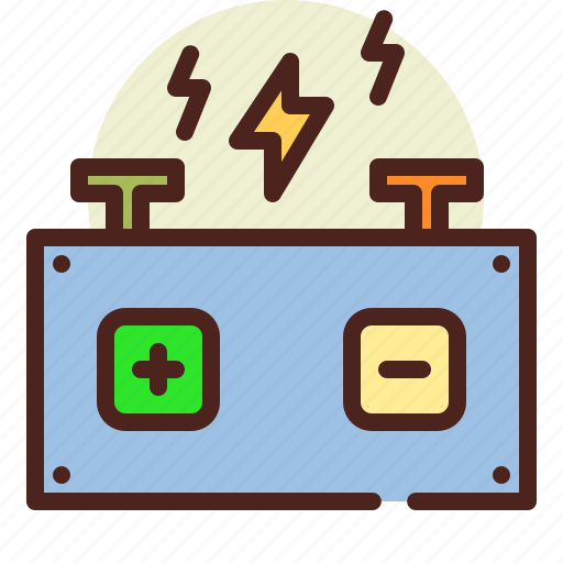 auto, battery, bio, ecology, pollution, recycle icon