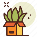 bio, delivery, ecology, green, pollution, recycle icon