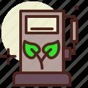 bio, eco, ecology, pollution, pump, recycle icon