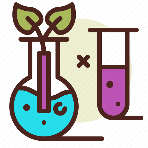 bio, ecology, experiment, pollution, recycle icon