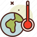 bio, ecology, global, pollution, recycle, warm icon